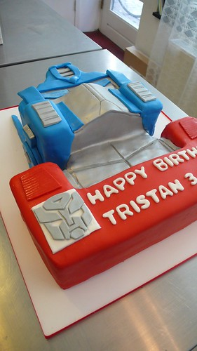 Optimus Prime Cake by CAKE Amsterdam - Cakes by ZOBOT