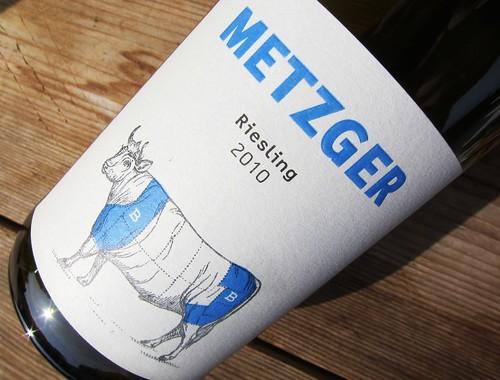 Metzger Riesling Pastorenstueck