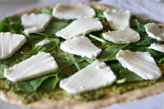 Veggie Pesto Pizza 3