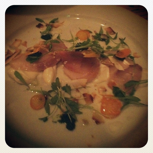 crudo at Julienne