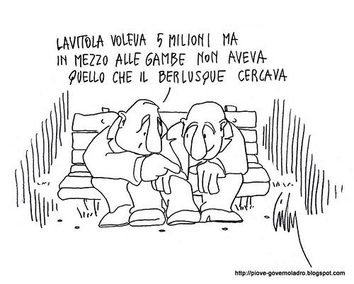 Lavitola voleva 5 milioni by Livio Bonino