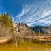 Yosemite Falls Panorama