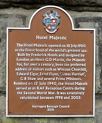 Photo of Hotel Majestic, Harrogate, Winston Churchill, Edward Elgar, Errol Flynn, and 2 other