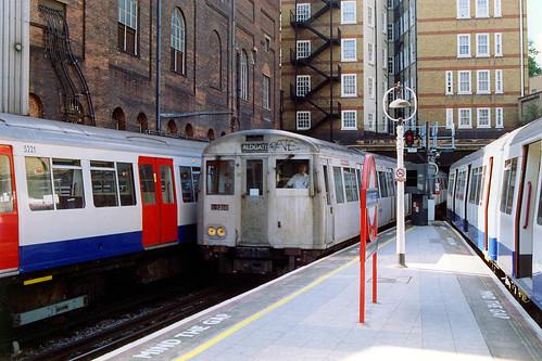London Underground - Metropolitan Line - A stock at Baker Street