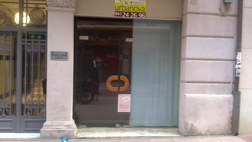 Calvo sotelo logroño local cerrado