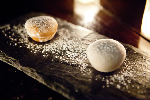 Chocolate & Black Sesame Mochi Ice Cream