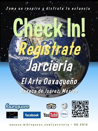 Jarcieria El Arte Oaxaqueño Check In! Regístrate Oaxaca 06.2013