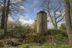 Folly at Westonbury Mill Water Garden