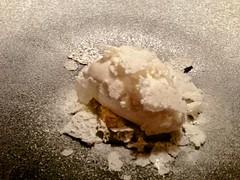 Crema de limón, bizcocho de yogur y helado de leche - Restaurante Mina - Bilbao