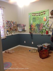Moving the quilting corner