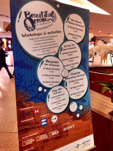 School holiday activities on at midvalley...