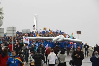 #30mdelta Manifestació Sant Jaume-Deltebre