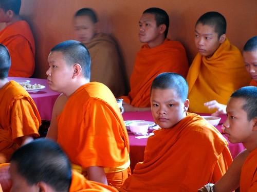 Jóvenes monjes