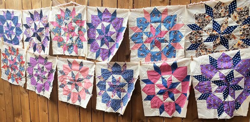Vintage Quilt Blocks 4