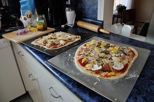 Thin and Crispy Pizza Crust Recipe