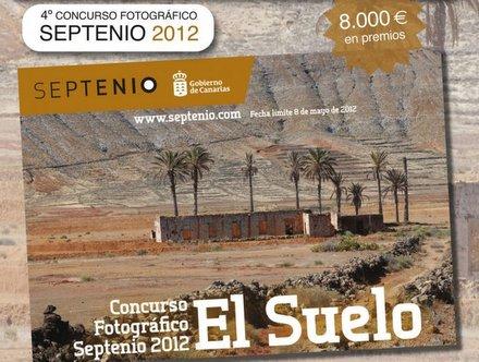 Cartel promocional del concurso Septenio 2012