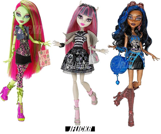 Monster high venus robecca and rochelle flickr photo - Monster high venus ...