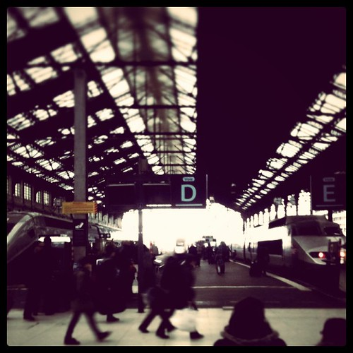 Leaving. (Gare de Lyon Paris) by cocopuff1212