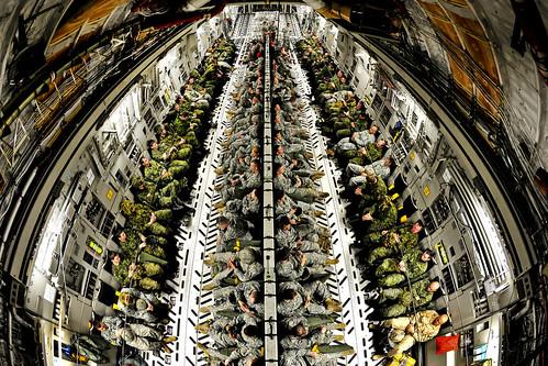 無料写真素材, 戦争, 兵士, 輸送機, アメリカ軍