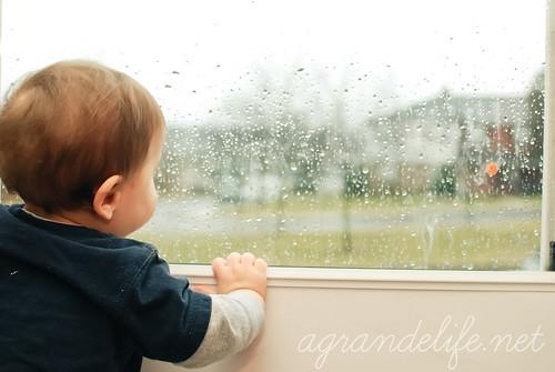 A Grande Life | Rain, Rain, Go Away