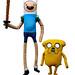 Small photo of Finn & Jake / Adventure Time