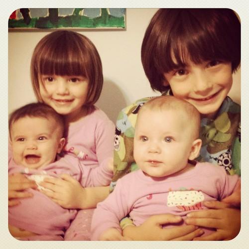 My four.