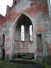 Ruins of the Stülerkirche in Reitwein