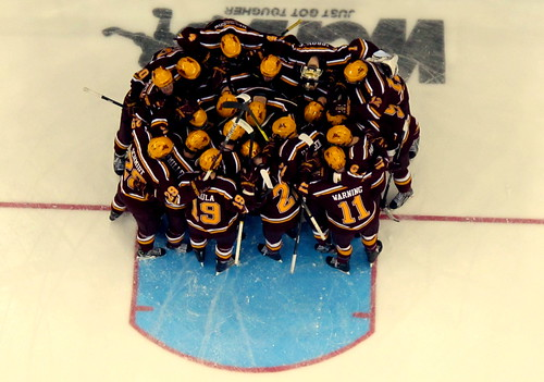 WCHA: Gophers Top Coaches Poll