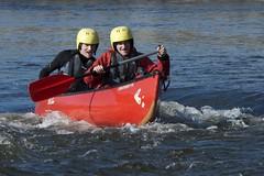 Canoeists, The Warren, Hay on Wye