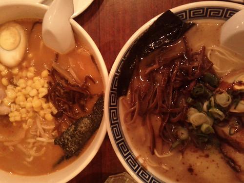 Spicy Miso & Basic Ramen at Minca