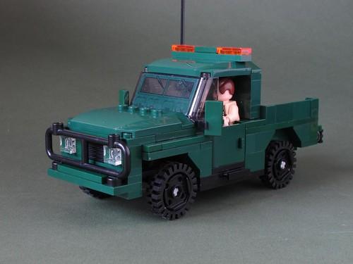 Green Army 4x4: 1