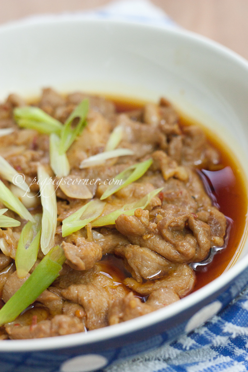 Steamed Pork in Shrimp Paste
