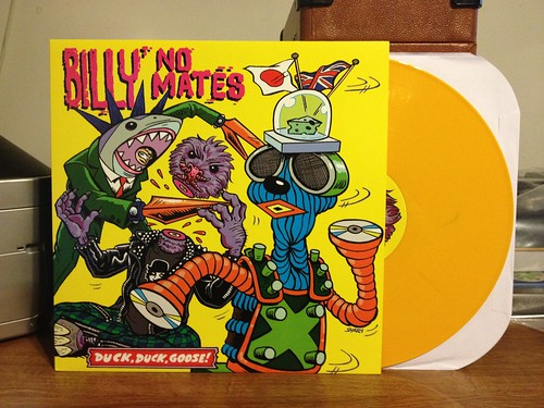Billy No Mates - Duck Duck Goose LP - Yellow Vinyl by Tim PopKid