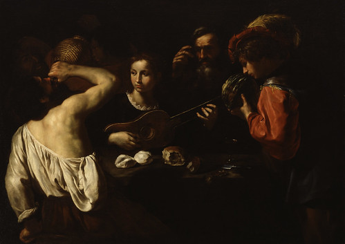 Pietro Paolini - Allegory of the Five Senses [c.1630] by Gandalf's Gallery