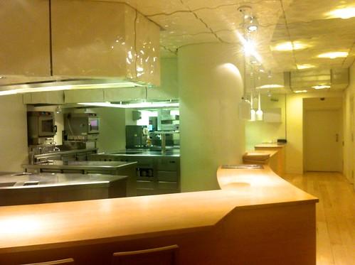 La Cocina al aire del Restaurante Nerue