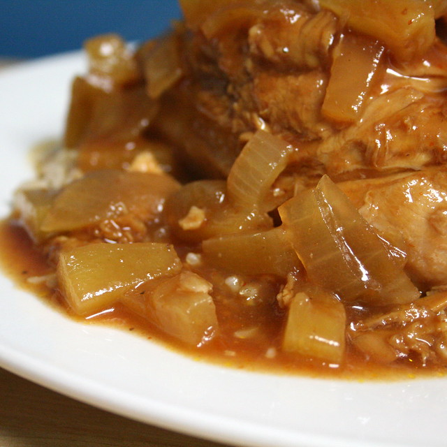 BBQ Pineapple Crock Pot Chicken | Flickr - Photo Sharing!