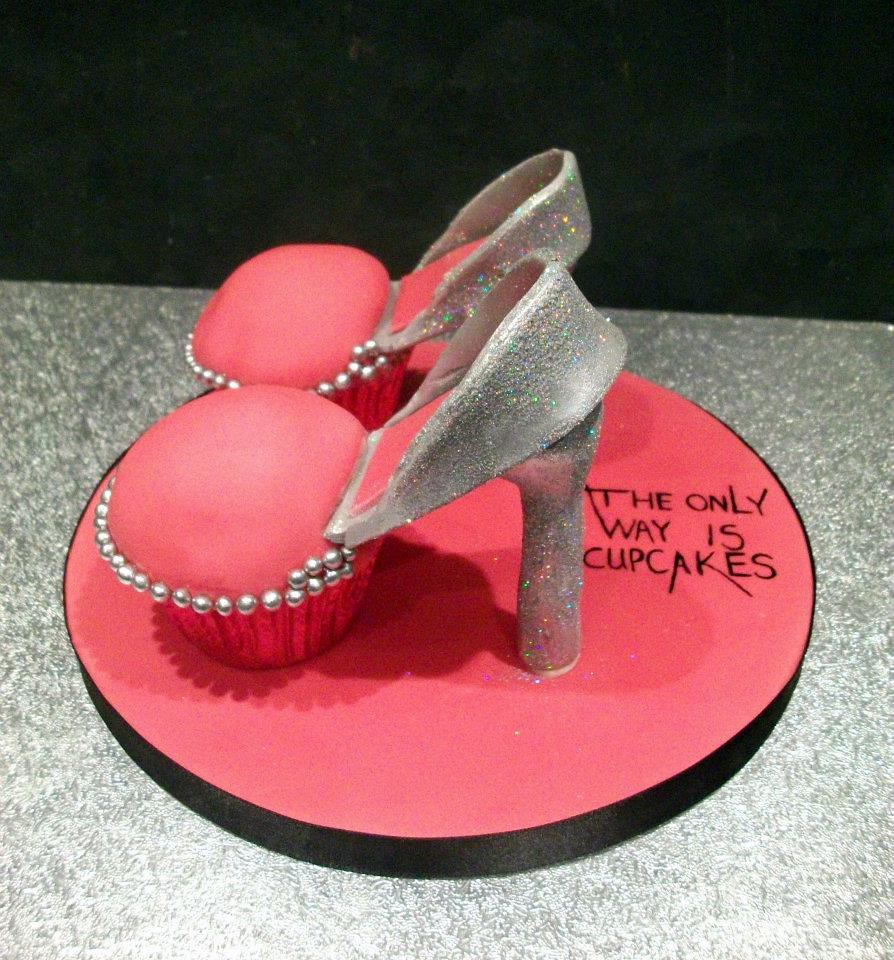 high heel shoe cupcakes for sale by kupcake bar and flour