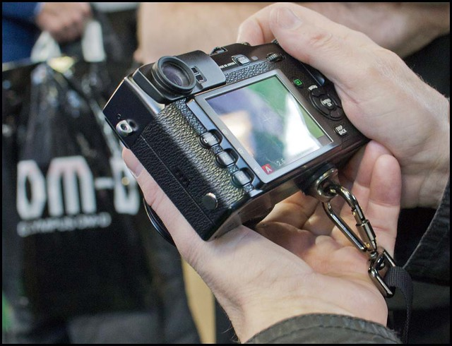 Fuji X Pro 1 Focus On Imaging show Birmingham 2012