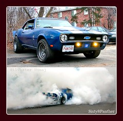 "1968 Chevrolet Camaro ""Panther"" Burnout"