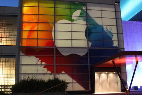 appleのイベント会場