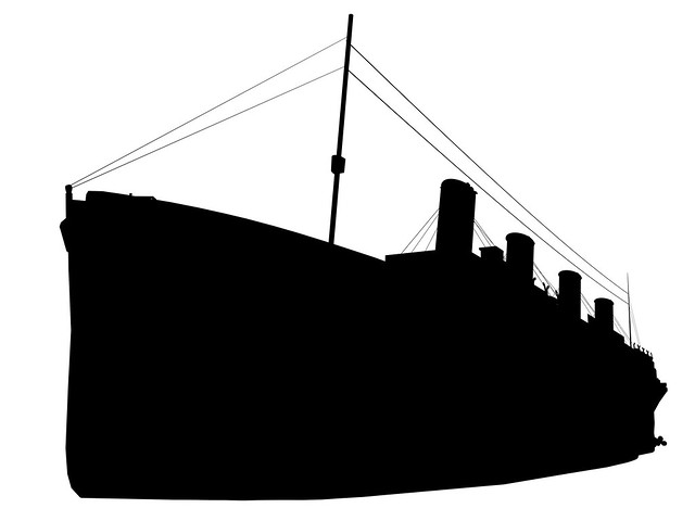 Titanic Disaster At Sea My Son S Title A Gallery On