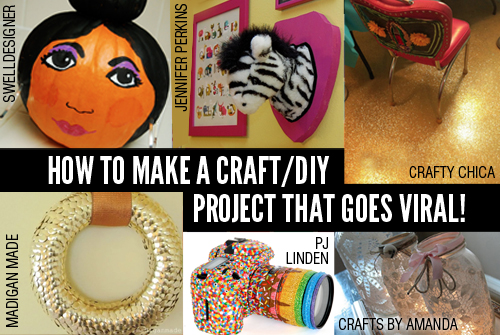 make a craft that goes viral