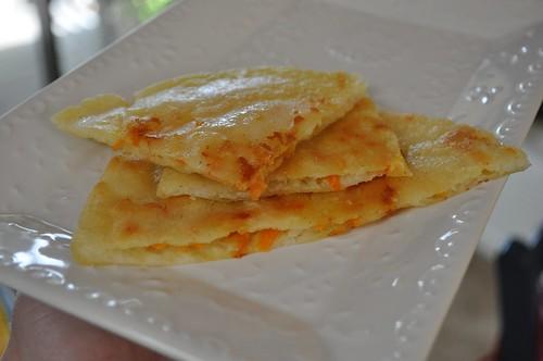 Gluten Free:  Carrot Pupusas