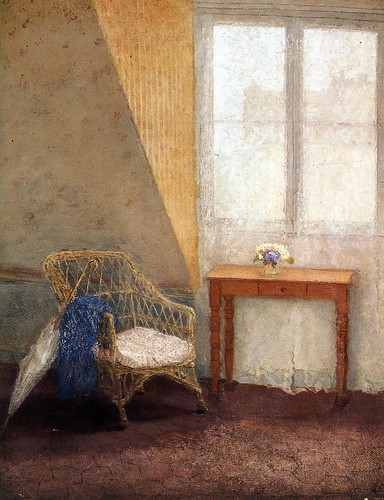 Gwen John - Corner of the Artist's Room in Paris [1907] by Gandalf's Gallery