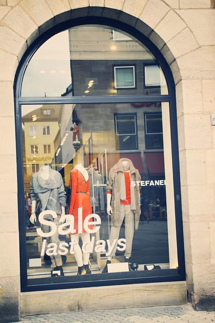 window sale, budget