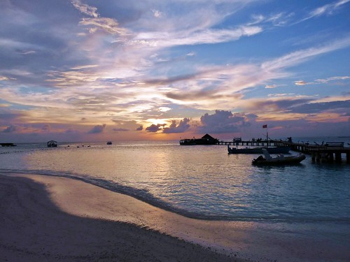 Thudufushi, Maldives: Peaceful twilight