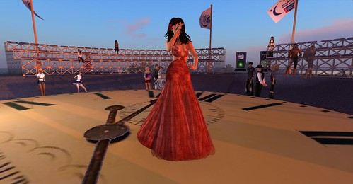 Tamra at the RFL of SL 2012 Kickoff