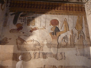 Ramsses III censing before a form of Sekhmet-Min