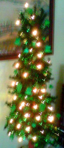 Kitchy St. Patrick's Day Tree by northwoodsluna