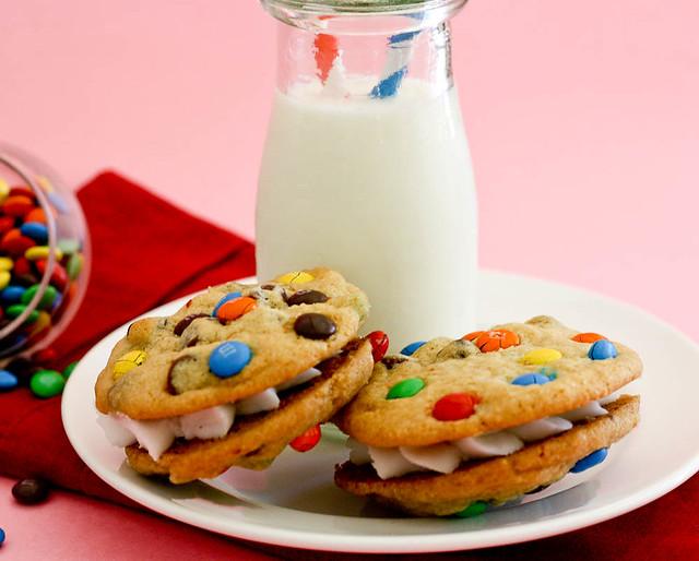 Homemade Double Doozie Cookie Cake